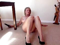 Are you ready to see me totally naked while fucking myself with a nice big black toy.I spread that cunt nice and wide before filling it with a nice black cock I really do pound that pussy before getting to work on the clit do you get to cum as hard and as noisy as me I just love masturbating any place and any time I always carry a toy in my handbag and I always get to use it at some time in the day lets see how many loads of spunk you can shoot over me in this weeks video.My cunt is open and waiting climb aboard and fill me up you know I love cock.LoveMichelle xxxx