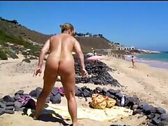 I spend some days on the nudistbeach in Fuerteventura. Relaxing in the sun without any clothes thats what I like.