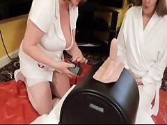 Hi Guys when Pandora came to The Dirty Doctors Clinic with Low Sex Drive something had to be done and quick So I took her into my Care for some treatment using The Sybian When the Doctor caught up with me I had just finished the first course of Treatment which had gone very well.Speedybee  xxx